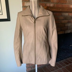 Andrew Marc Marc New York Ruby Leather Jacket M